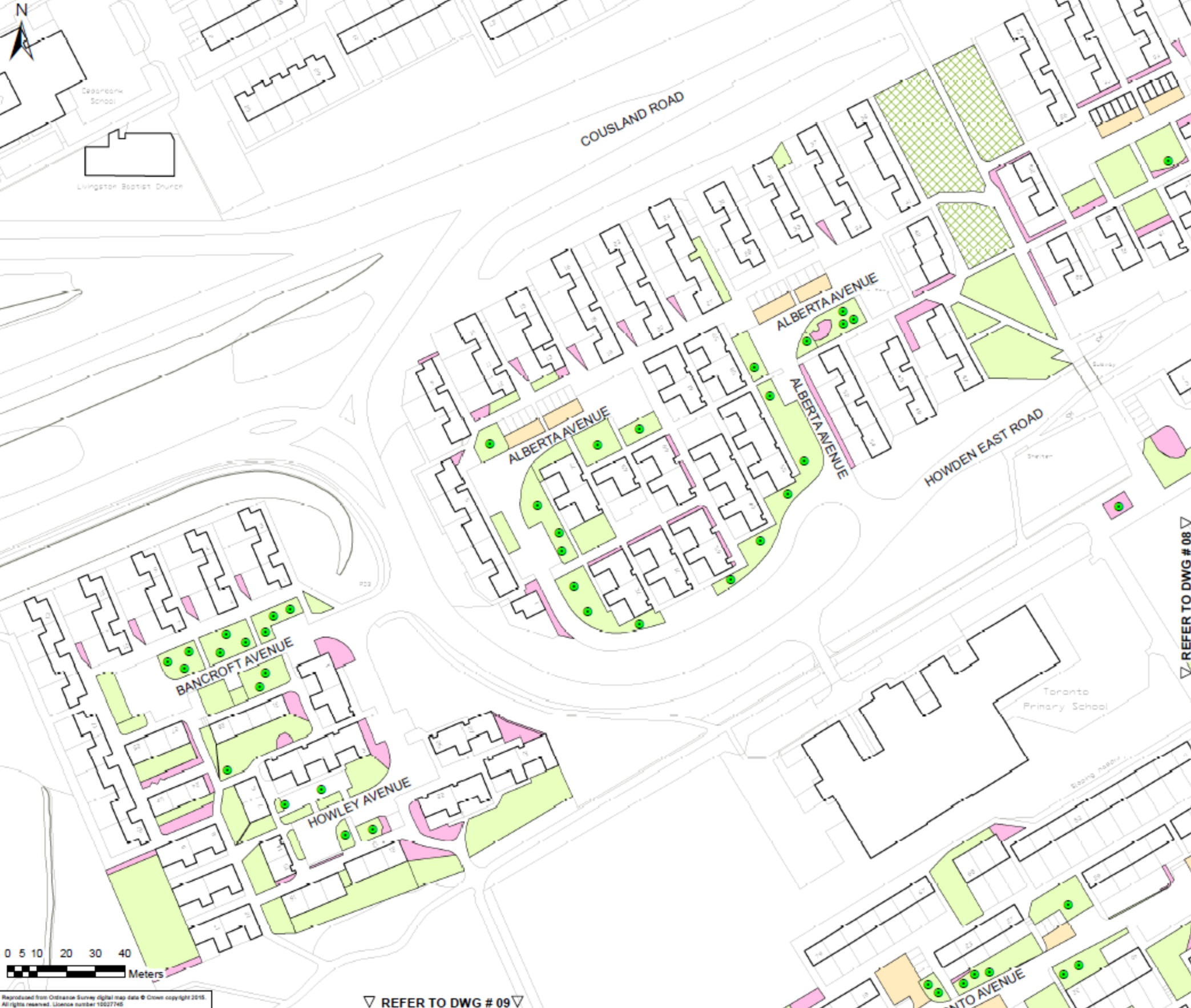 Estate Management map Howden 1