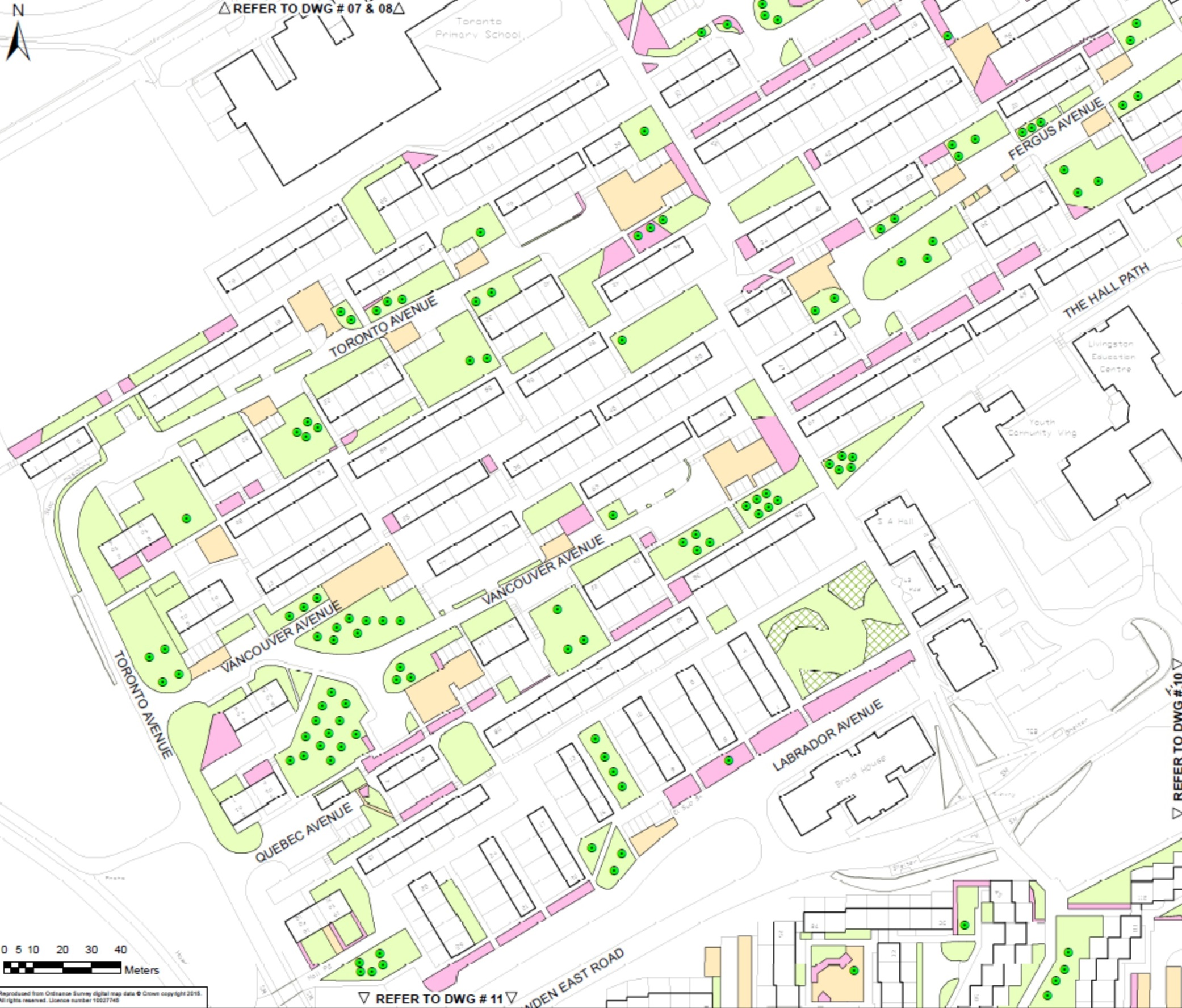 Estate Management map Howden 3 new