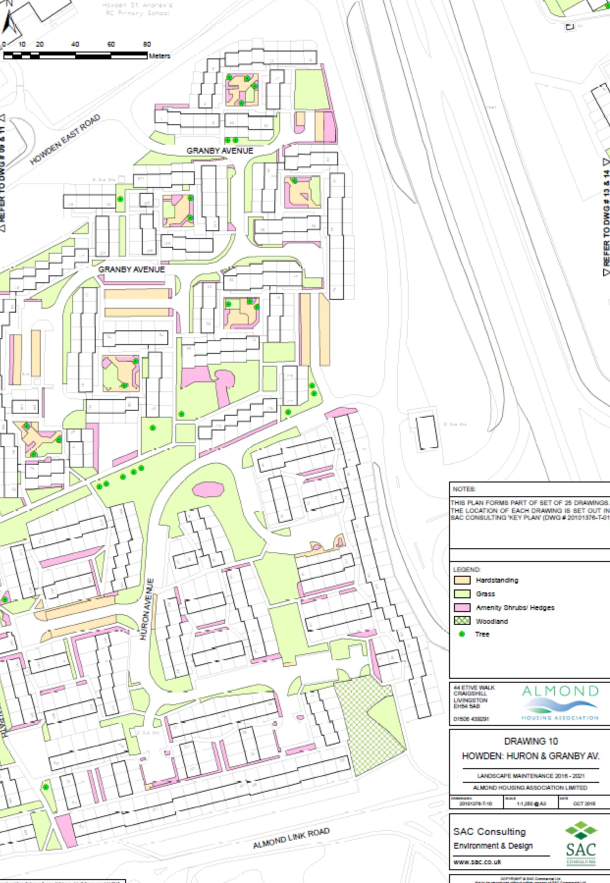 Estate Management map Howden 4