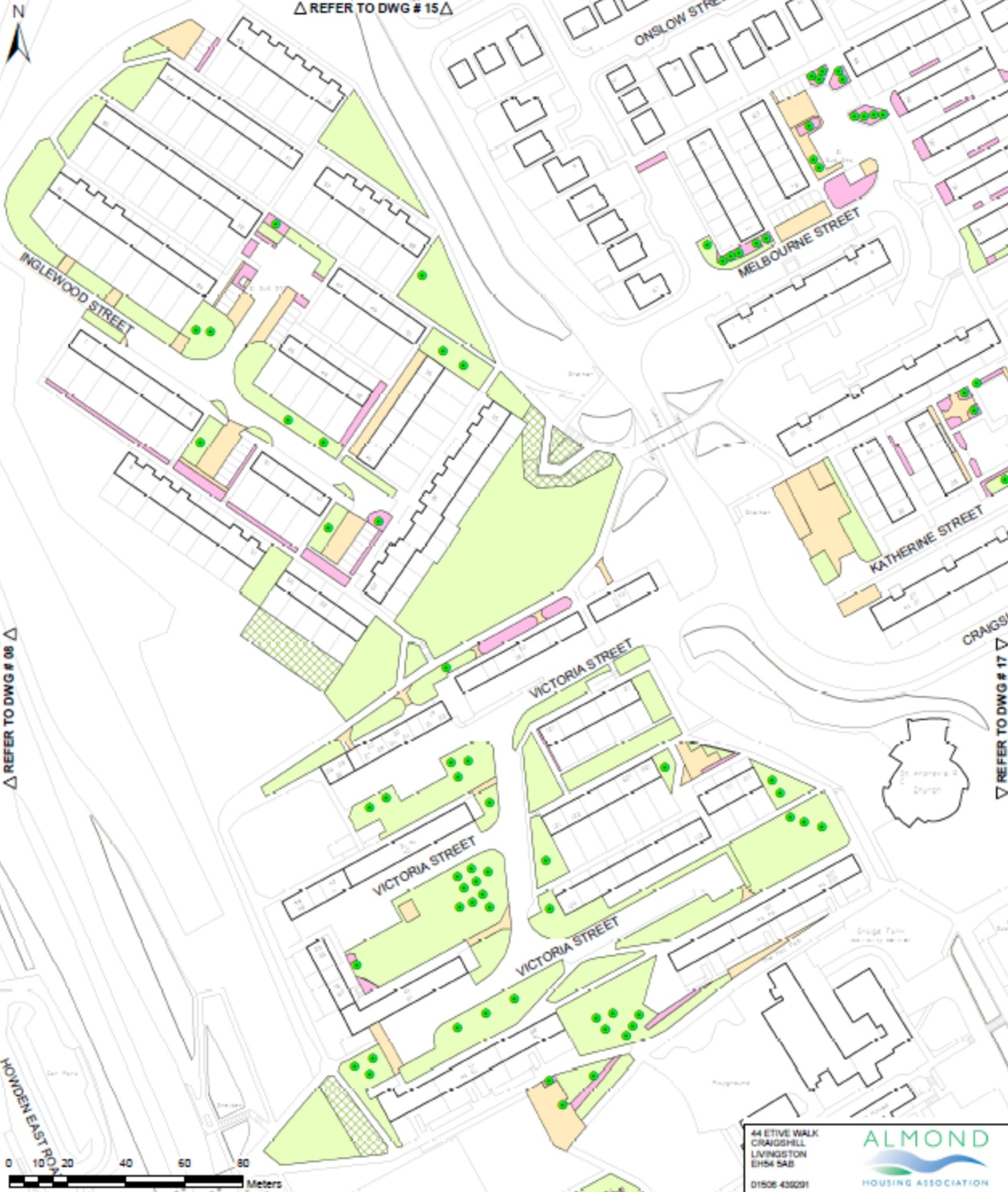 Estate Management map Craigshill 1